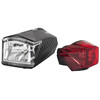 Red Cycling Products Power LED Set faretti nero